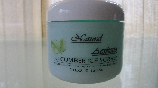 CUCUMBER ICE SORBET soothing and cooling gel masque treatment